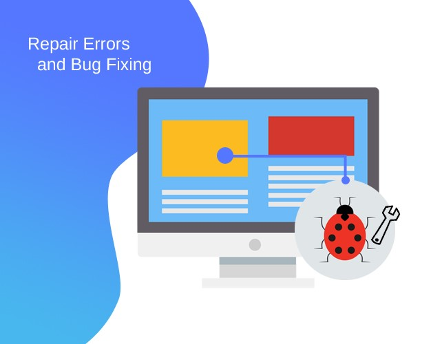 Repair Errors and Bug Fixing
