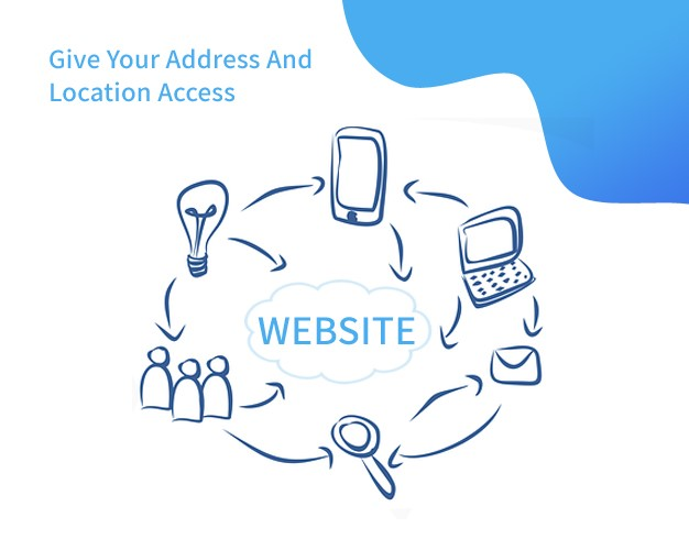 Give Your Address And Location Access