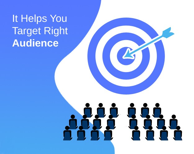It Helps You Target Right Audience